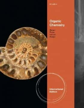Organic Chemistry Organic Chemistry 6th edition Brown Foote Iverson Anslyn international edition product image
