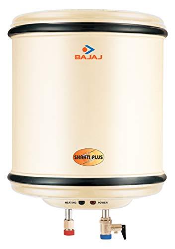 Bajaj Shakti Plus Storage 15-Litre Vertical Water Heater (Ivory)