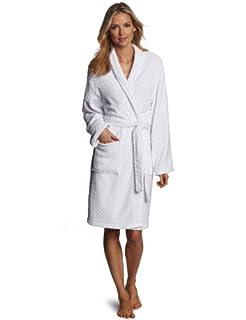 Seven Apparel Hotel Spa Collection Herringbone Textured Plush Robe, Optic White (B008I25J7G) | Amazon price tracker / tracking, Amazon price history charts, Amazon price watches, Amazon price drop alerts