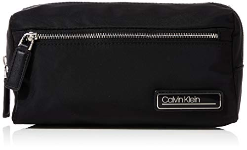 Calvin Klein - Primary Washbag, Organizadores de bolso Mujer, Negro (Black), 1x1x1 cm (W x H L)