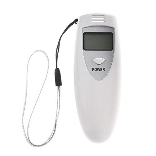 Sidougeri Tragbarer Mini-Digital-Alkoholtester mit LCD-Display