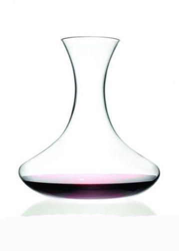 takestop® CARAFFA Decanter in Vetro 1,5 L per Vino AMPOLLA BROCCA DEGUSTAZIONE A Collo Taglio Dritto