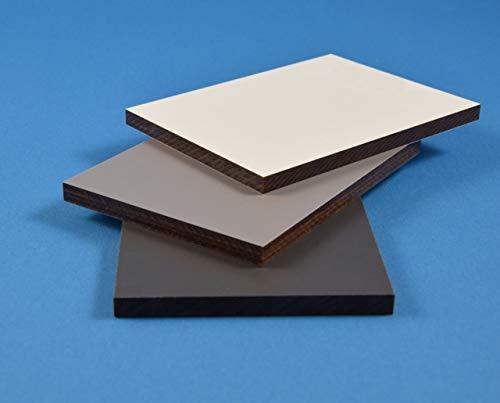 HPL 8mm Schichtstoffplatten/Baukompaktplatten Fassadenplatten - Zuschnitt möglich - Kronoart Farbe:0164 Anthrazit 1015mmx2800mm