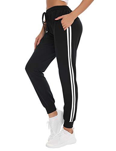 NewPI - Sportbekleidung für Damen in Schwarz, Größe M