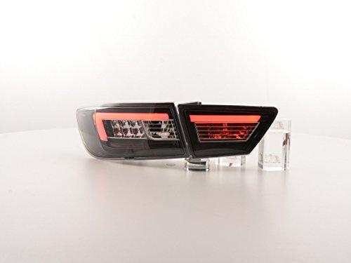 FK Automotive FKRLXLRN016009 LED achterlichten achterlichten, zwart