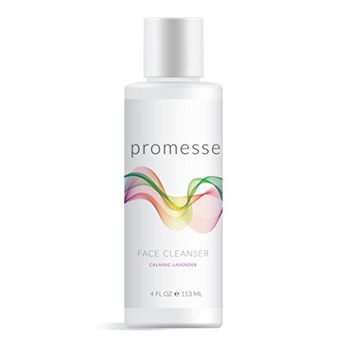 Promesse Gel limpiador suave y espumoso con ácido salicílico, glicólico y láctico combinados. Aromas Naturales de Rosa, Lavanda, Pomelo y Menta