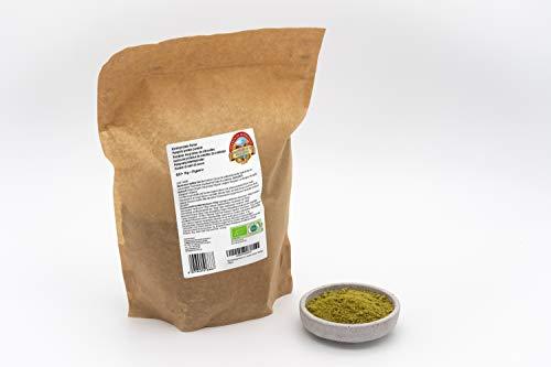 Bio Kürbis Proteinpulver – 1 kg – 62 % pflanzliches Eiweiß – Entfettet, low carb und glutenfrei – Vegan – Aus Österreich – Rohkost