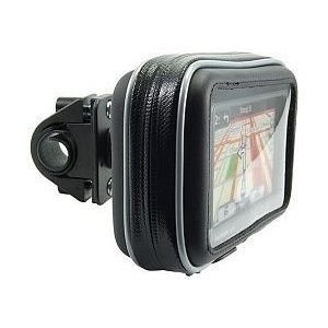 Navitech Trolley Golf GPS Waterproof Case & 360 Degree Rotational Mount/Holder Compatible with The Golf Buddy World Platinum Golf GPS Rangefinder