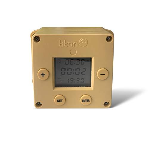 Titan Incubators Cube Timer Automatischer Hühnerhaus-Türöffner / -schließer