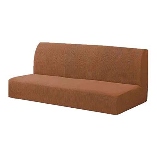 Cobeky Tejido tejido sin brazos para sofá cama sin apoyabrazos Big Elastic plegable muebles decoración banco-café