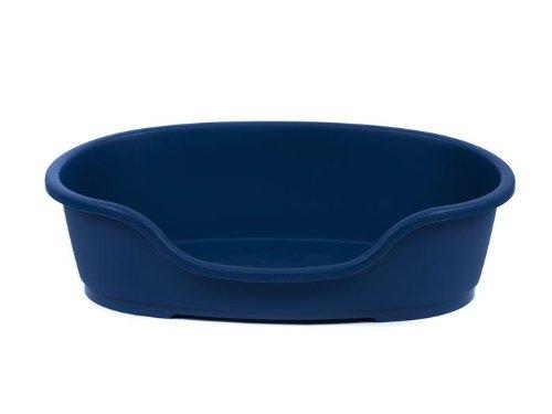 adena Hundekorb Kunststoff 110 cm blau