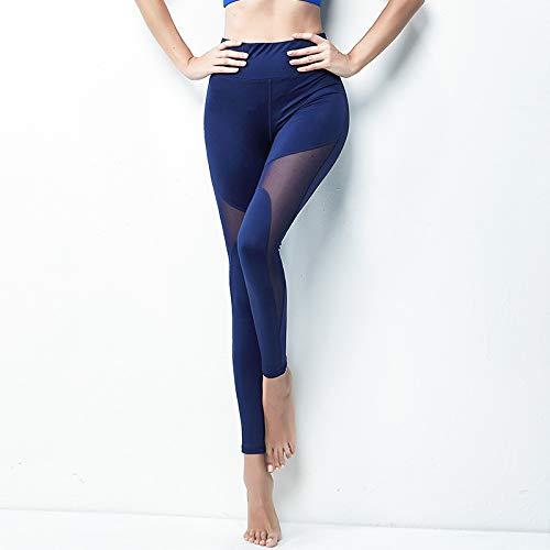 QXXNB Polainas de Talle Alto, Pantalones de Yoga Suave para ...