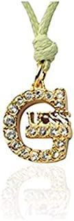 Guess Pendant Necklaces for Women,Stainless Steel - UBN21203N