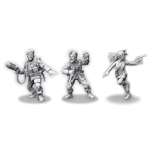Edge Entertainment- Investigadores de los aliados, Pack 2, Color (MUH00101)