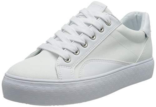 ESPRIT Canvas-Sneaker mit Monogramm-Sohle