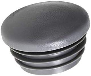 Senmubery Senmubery 4 Stueck Plastik Vierkantrohr Schlaucheinsatz Staub Duese Endkappen 50 mm// 2 Zoll R