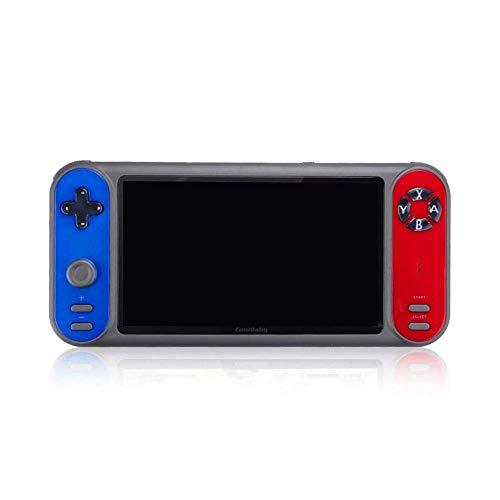 XYZK Manejar juego consola consola de juegos portátil 1200 juegos 7 pulgadas pantalla música reproductor de vídeo HD TV salida juego mango