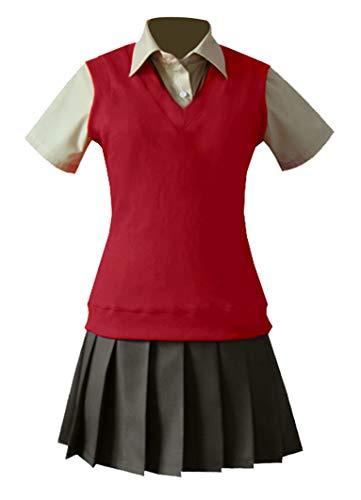Wish Costume Shop Mahoutsukai no Yome Chise Hatori Cosplay Costumes (XXL, Red)