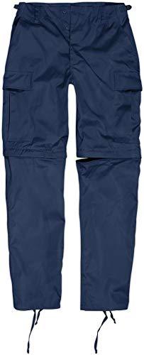 normani Zip Off BDU Feldhose mit per Reißverschluss abtrennbaren Hosenbeinen Farbe Navy Größe L