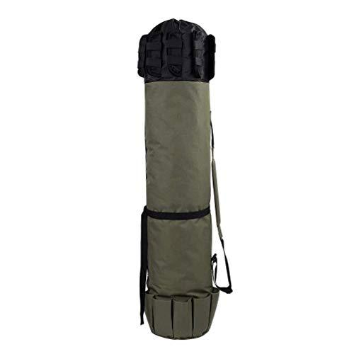 LXYSB Tasche Angeln, Angelrutentasche, Außenangelausrüstung Tasche, Multifunktions Folding Angelrutentasche