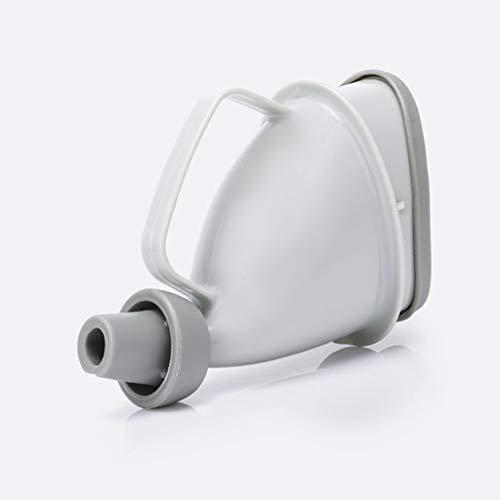 LPing Portable urinoirs pour Homme et Femme,réutilisable Portable Entonnoir de Voyage Imitation Pee Bouteille pour Le Camping d'urgence Assis ou debou