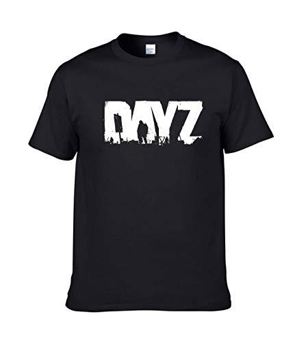 Platopotato DayZ Logo T-Shirts for Men L Black