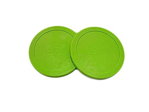 3-1/4 Dynamo Fluorescent Air Hockey Puck Set by Valley-Dynamo