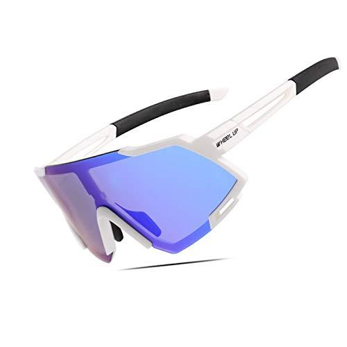 ZTLY Gafas de Sol al Aire Libre Tendencia Riding Gafas Los Espejos Deportivos polarizados Son Ligeros y adecuados para la Pesca al Aire Libre y la equitación,F