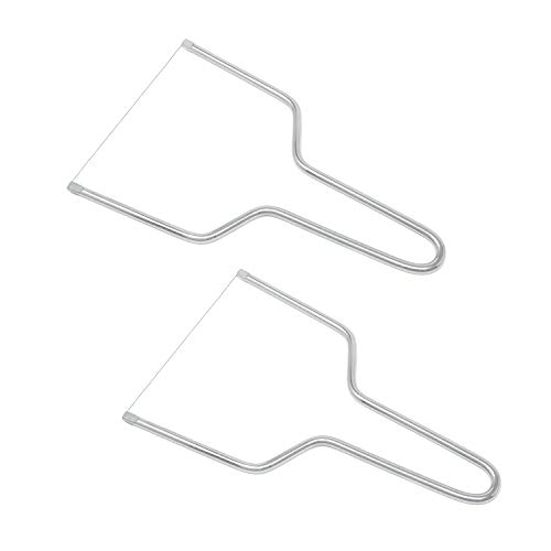 Honbay 2PCS Stainless Steel Butter Cheese Wire Cutters Slicers Knives for Kitchen