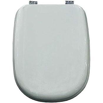 Sedile Wc Ideal Standard Serie Tesi.Copriwater Ideal Standard Tesi Bianco Euro Cerniera Cromo Sedile Asse Wc Amazon It Fai Da Te