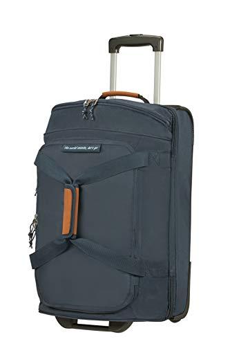 American Tourister Alltrail - Bolsa de Viaje con Ruedas S, 55 cm, 53 L, Azul (Navy)
