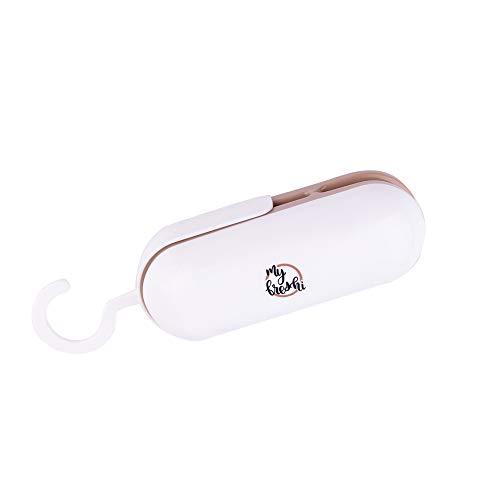 My Freshi Mini Bag Sealer | Portable 2 in 1 Smart Bag sealer And Cutter | Handheld heat vacuum sealer...