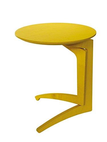 Happy Design - F.lli Del Fabbro Tavolino Pieghevole Foldme h.51 Giallo