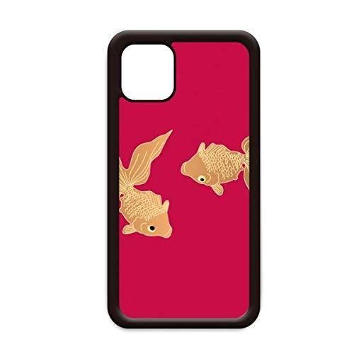 Schilderij Japanse Cultuur Vis voor Apple iPhone 11 Pro Max Cover Apple mobiele telefoonhoesje Shell, for iPhone11 Pro Max