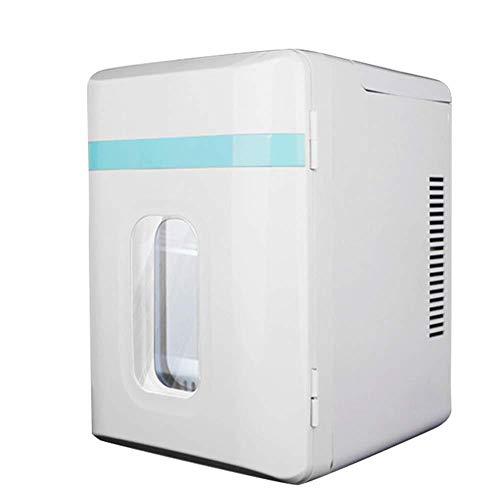 wangt 12 l autokoelkast, grote capaciteit witte mini-koelkast, huishouden elektrische koelbox koelen verwarmen