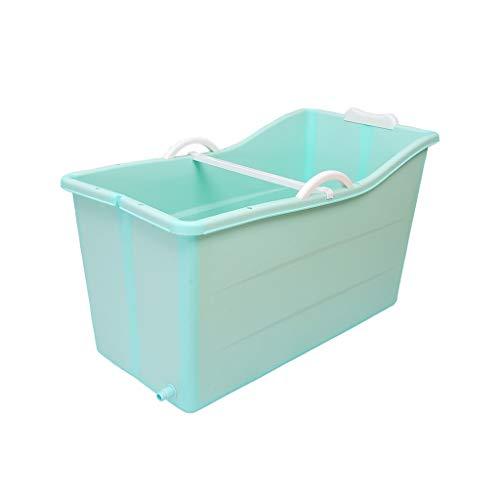 Bañera for,Plegable Adultos Bañera,portátil Tina De Baño,Plástico Bañeras,anti-deslizante Y Compacta Cubo De Remojo,bañera for Ducha Plegable