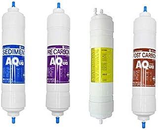 4EA Lot de filtres à eau de rechange pour purificateur d'eau LG WCD74GA1R 10 microns