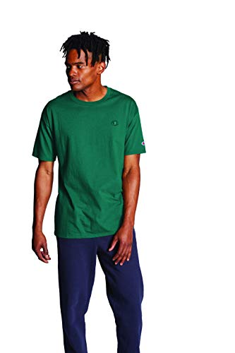Champion Men's Classic Jersey Tee, Off The Grid Green, Large