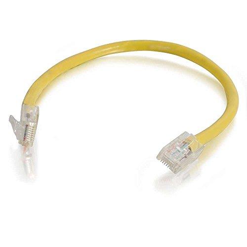 CATE 0,5 m-cavo niet afgeschermd (UTP), kabel netwerkkabel patch, kleur: zwart 2 m Giallo - giallo