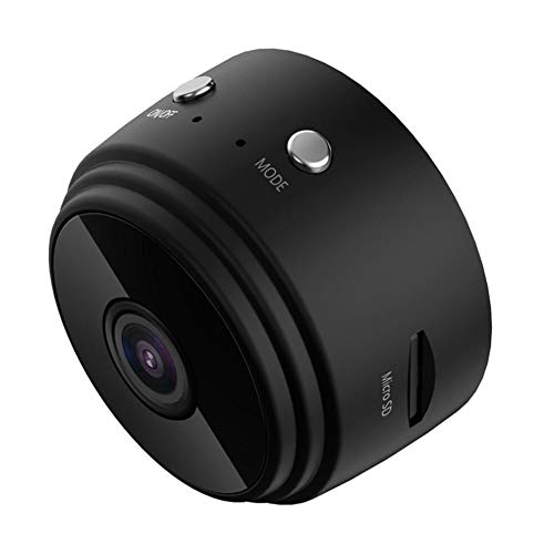 WEEA 1080P HD Mini Camera,Camcorder,Spy Camera Hidden WiFi,Wireless Home Security DVR Night Vision for Home,Car,Office