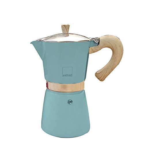 Gnali & Zani VEZ009/IND/BLUE ekspres do espresso, aluminium, miętowy