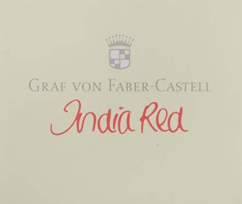 Graf von Faber-Castell 141119 Tintenpatronen 6 Stück Indian Rot