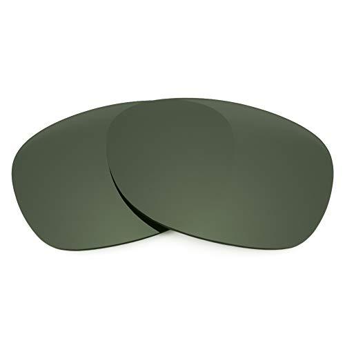 Revant Lentes de Repuesto Compatibles con Gafas de Sol Ray-Ban New Wayfarer RB2132 52mm, Polarizados, Elite Gris Verde MirrorShield