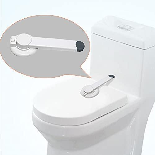 Eternitry Toilettenschloss, Kinder-WC-Sicherheitsschloss, Ideales Baby-WC-Deckelschloss, Haltbar