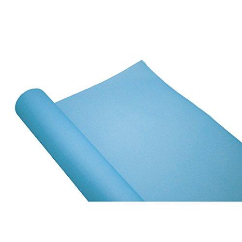 Chemin de table uni bleu ciel jetable