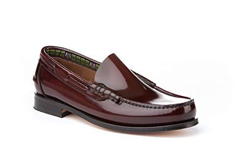 Mocasines Hombre de Piel. Zapatos Castellanos cómodos para Hombre. Disponibles Desde la Talla 40 hasta la Talla 45 - A&L Shoes Modelo 474.