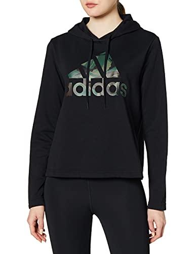 adidas GL7554 W Camo HD Sweat Womens Black L