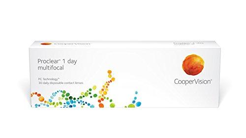 Proclear 1-Day Multifokale Tages-Kontaktlinsen, R 8.7, D 14.2, 2.75 Dioptrie, Zusatz 0-30 Linsen