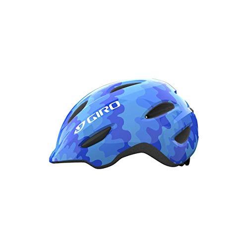 Giro Scamp Kinder Fahrrad Helm blau 2021: Größe: S (49-52cm)