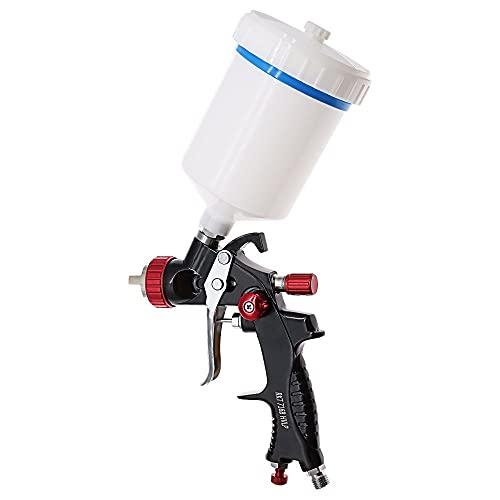 JZWYYF 1.3mm Boquilla Profesional HVLP Herramienta de la Pistola de Pistola de Pintura para Pintar el automóvil aerógrafo pneumati Herramienta